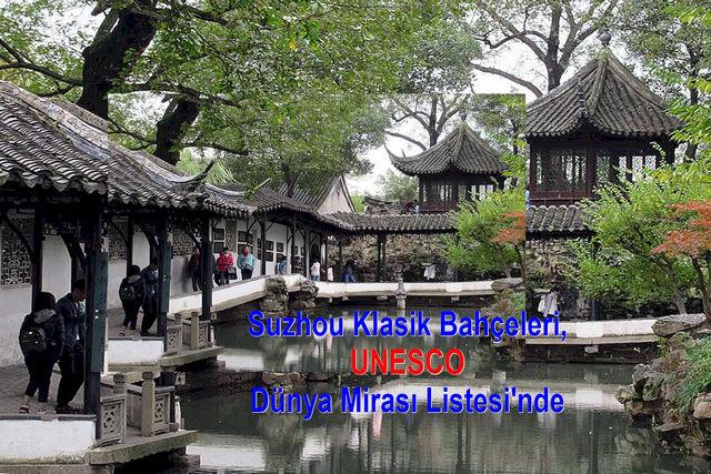 Suzhou Klasik Bahçeleri,