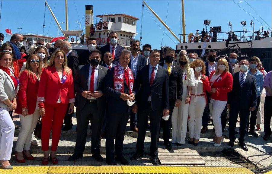 TDP Genel Başkan Sarıgül Samsun'da