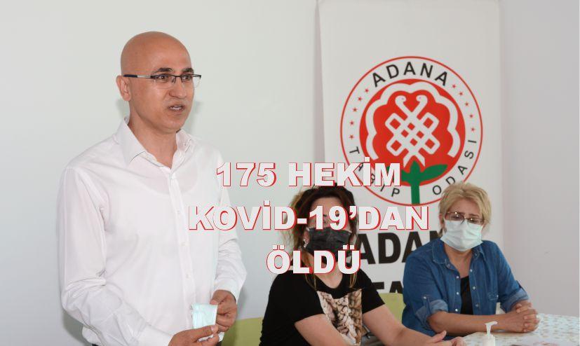 175 HEKİM KOVİD-19'DAN ÖLDÜ