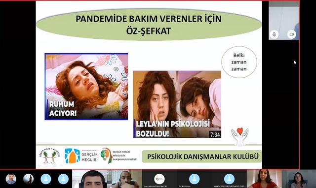 Adana Kent Konseyi Gençlik Meclisi bünyesinde faaliyet gösteren Psikolojik Danışmanlar Kulübü, Ücretsiz Psikolojik