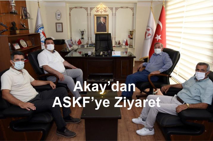 Akay'dan,ASKF'ye ziyaret