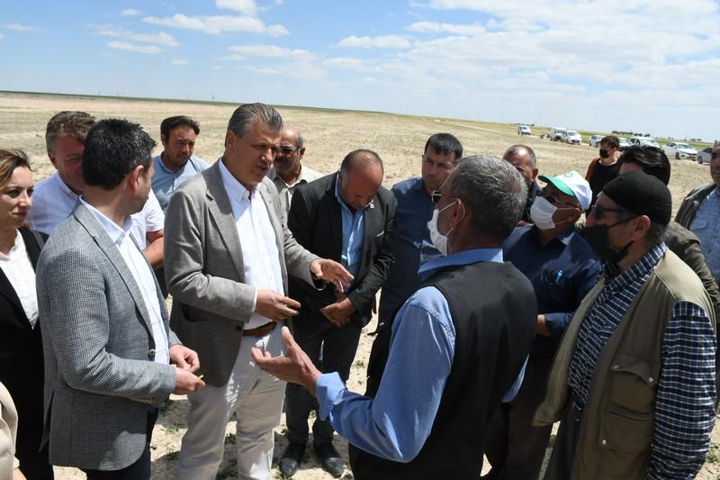 Aksaray'ın tarım kenti olduğuna dikkat çeken Ziraat Odası Başkanı Emin Koçak,