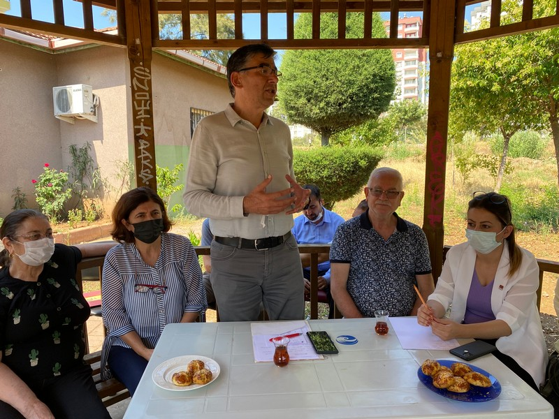 CHP ÇUKUROVA HUZUREVLERİ MAH. ÇALIŞMASI