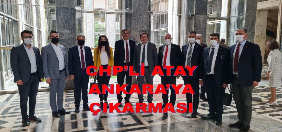 CHP'Lİ ATAY ANKARA ÇIKARMASI