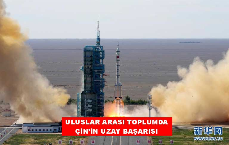 Uluslararası toplumdan Çin'in uzay başarısına ilgi..