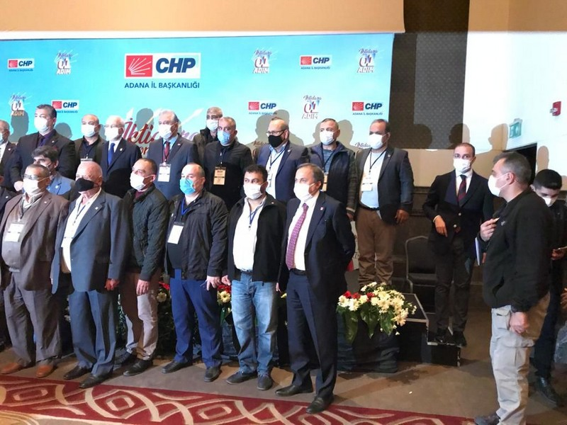 KARATAŞ'TA CHP'YE BÜYÜK KATILIM