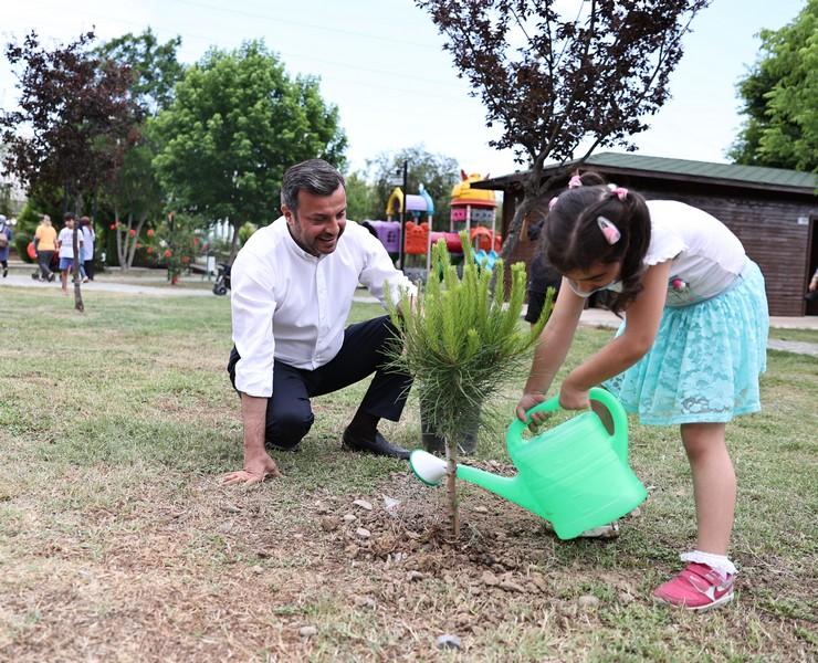 """Kocaispir, """"Mavinin nefesine, yeşilin huzuruna, toprağın bereketine ihtiyacımız var."""
