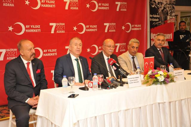 Ayyıldız Hareketi Lideri Prof. Dr. Ümit Özdağ ve Ayyıldız Hareketi mensubu Bağımsız Adana Milletvekili İsmail Koncuk, bugün Adana'da bir dizi ziyaret gerçekleştirdi.