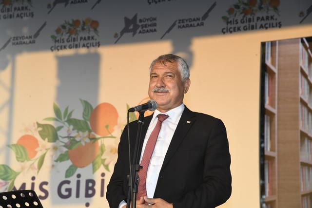 Zeydan Karalar çalışıyor, Adana'nın geleceğini inşa ediyor