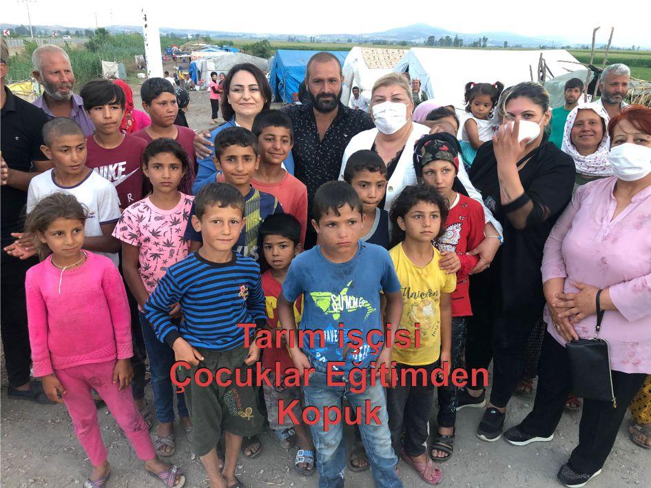 Tarım işçisi çocuklar eğitimden kopuk