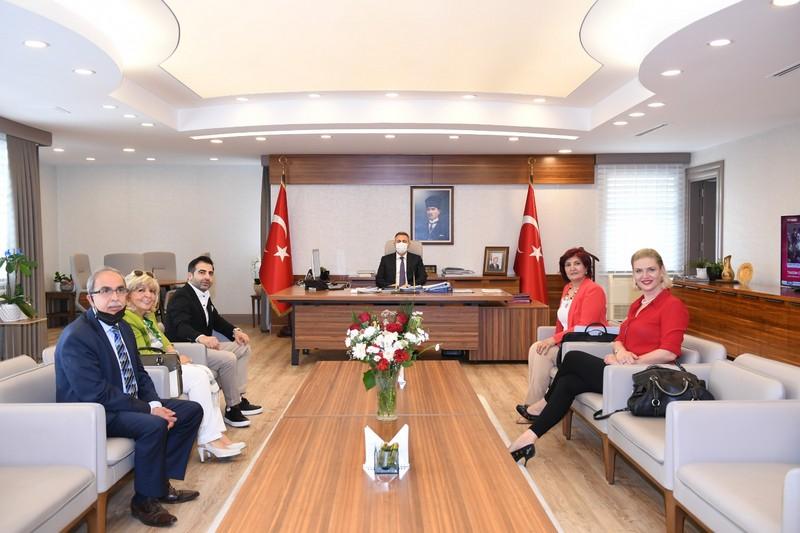 Vali Süleyman Elbaya Ziyaret