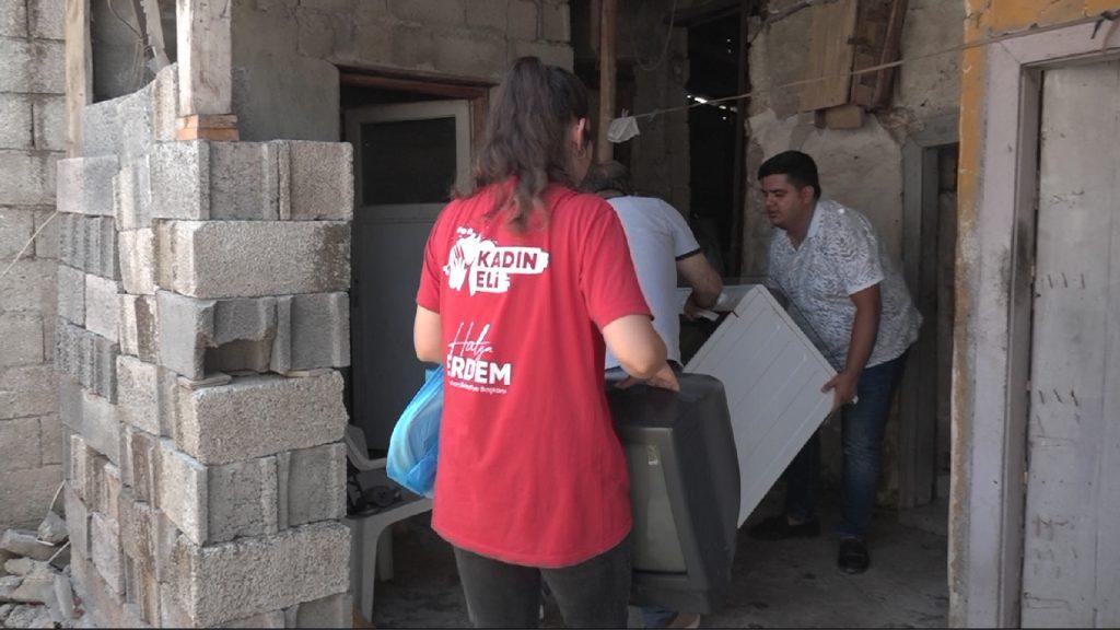 CEYHAN Belediyesi İhtiyaç Sahibi Vatandaşları Sevndirdi