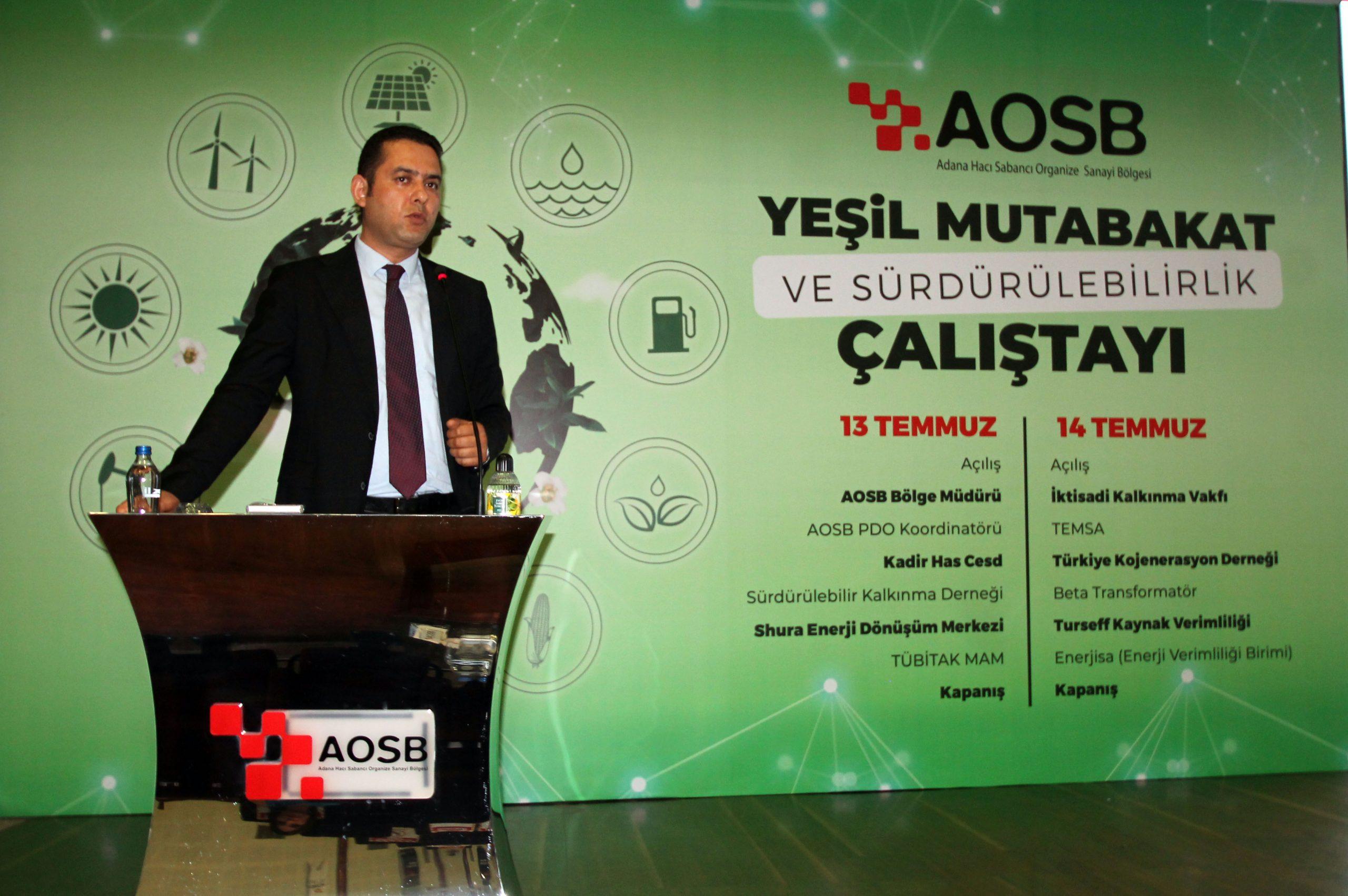 AOSB Bölge Müdürü Ersin Akpınar