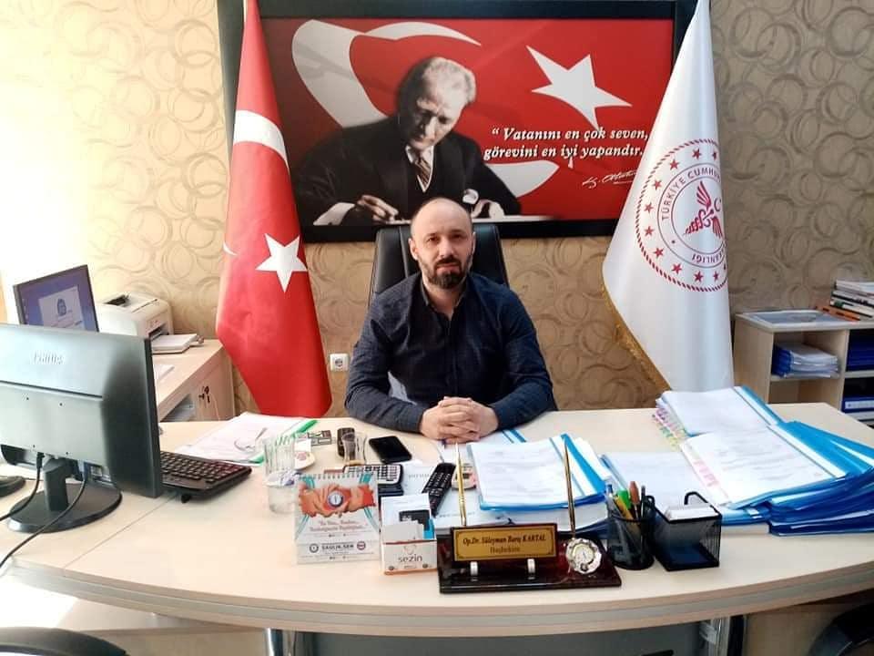 Ceyhan Devlet Hastanesi Başhekimi Op. Dr. Süleyman Barış Kartal , bir mesaj yayınlayarak Ceyhan halkının Kurban Bayramını kutladı.