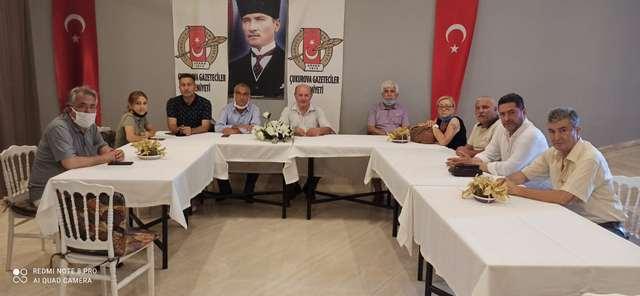 TÜED Adana Şube Başkan Adayı Akar, ÇGC'yi ziyaret etti ve hedeflerini açıkladı