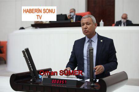 Orhan Sümer, CHP ADANA MİLLETVEKİLİ