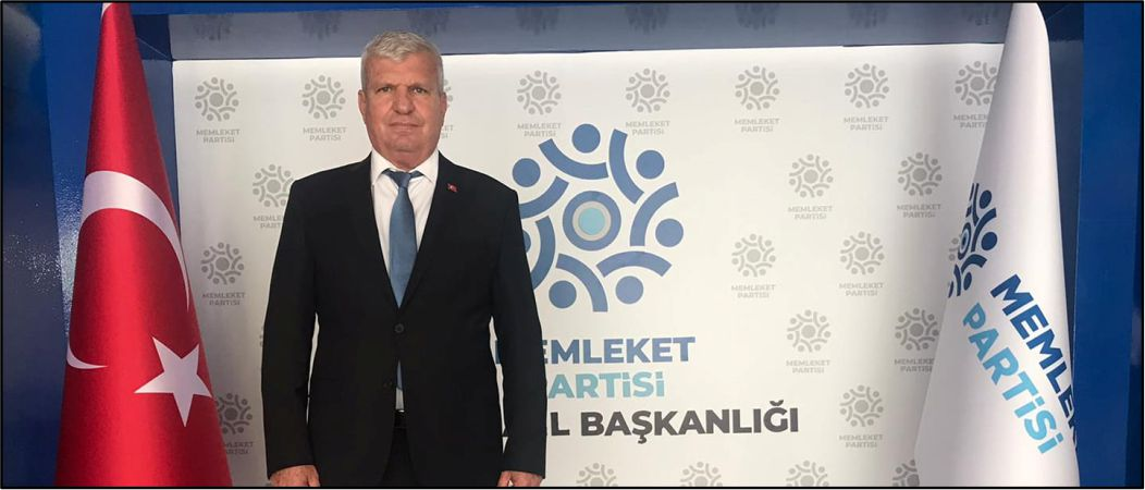 celal Güven Memleket Partisi Adanacelal Güven Memleket Partisi Adana il Başkan il Başkan