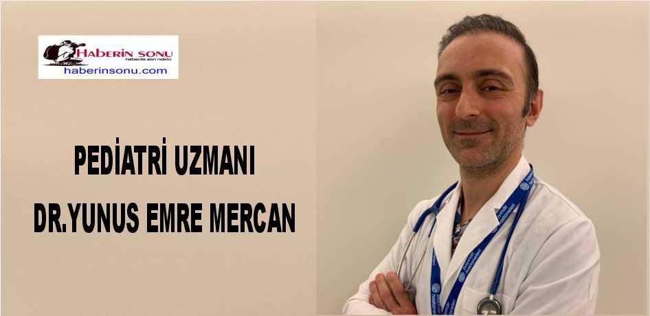 Bayındır Sağlık Grubu, Bayındır İçerenköy Hastanesi Pediatri Uzmanı Dr. Yunus Emre Mercan