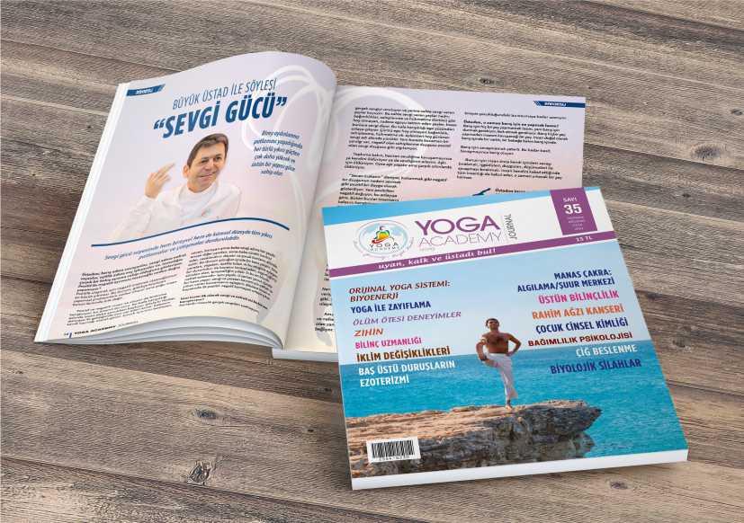 Dünyanın İlk Ve Tek Gerçek Yoga Dergisinin Yeni Sayısı Çıktı!