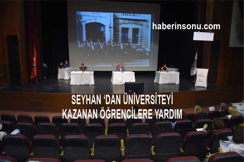 Seyhan'dan 4 Yıllık Devlet Üniversitesi Kazanan Seyhanlı Öğrencilere Eğitim Yardımı