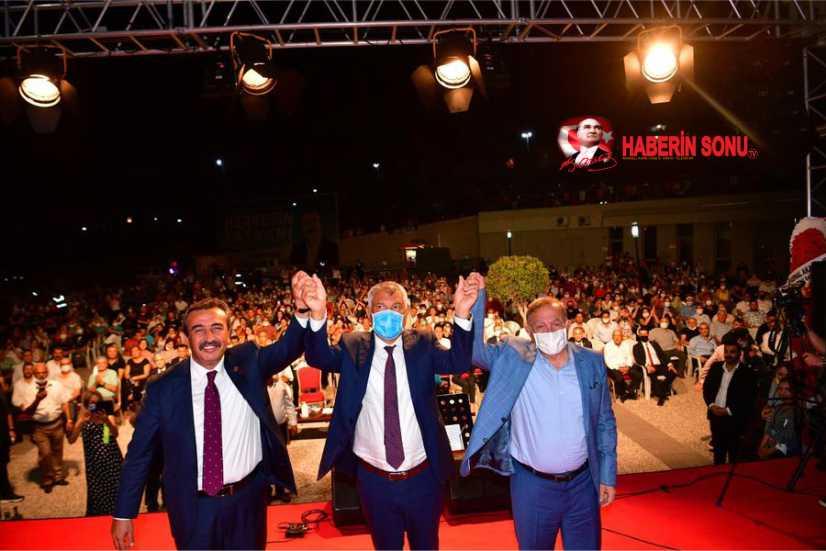 Başkanı Zeydan Karalar ve Seyhan Belediye Başkanı Akif Kemal Akay, Soner Çetin