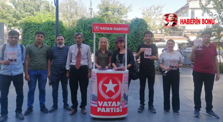 Vatan Partiisi Diyarbakır İl Kurultayı.