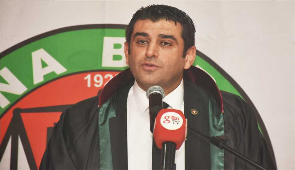 Adana Barosu Başkanı Av. Semih Gökayaz
