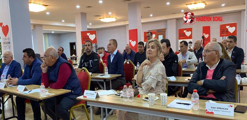 TDP'de Gündem Türkiye